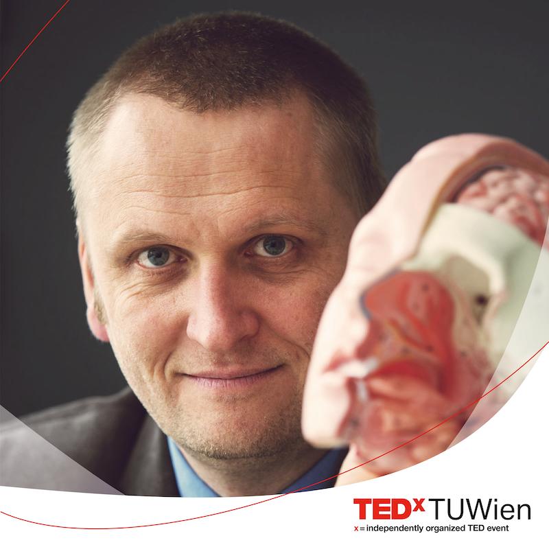 Gernot Müller-Putz TEDxTUWien connected 2019